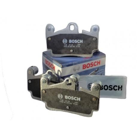 Pastillas Frenos Volkswagen Touareg 3.0 - 4.2lt Bosch Traseras (2009 - 2011) Bosch VOLKSWAGEN PASTILLAS FRENOS