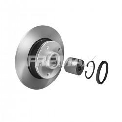 Discos Frenos Renault Fluence 1.6 16 Val Traseros (2012-)