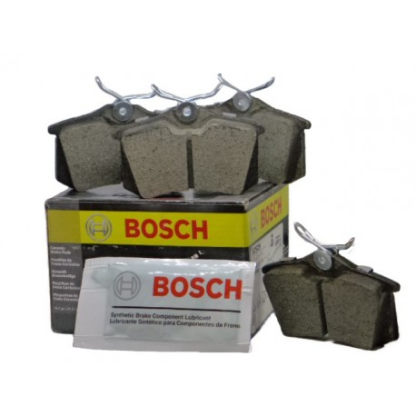 Pastillas Frenos Volkswagen Polo Trasera (2003 - 2007,2013) Bosch VOLKSWAGEN PASTILLAS FRENOS