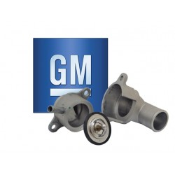 TERMOSTATO CHEVROLET AVEO 1.4 1.6 Y CARCAZA METAL GM General Motors CHEVROLET TERMOSTATO