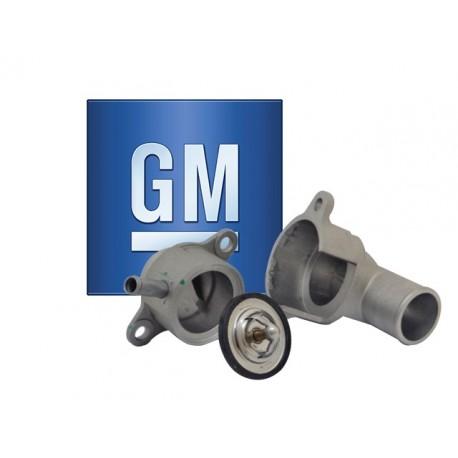 TERMOSTATO CHEVROLET AVEO 1.4 1.6 Y CARCAZA METAL GM General Motors CHEVROLET TERMOSTATO