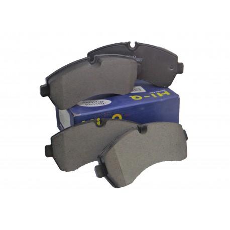 Pastillas Frenos Volkswagen Crafter 50 (2007-) Delanteras Sangsin Brake VOLKSWAGEN PASTILLAS FRENOS