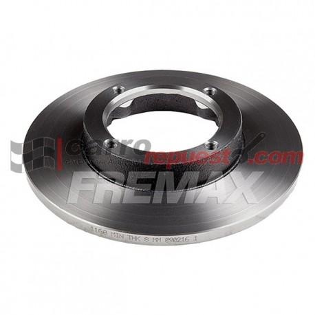 DISCOS FRENOS CHEVROLET SUPER CARRY 1.0 (2007) DELANTEROS Fremax CHEVROLET DISCOS FRENOS